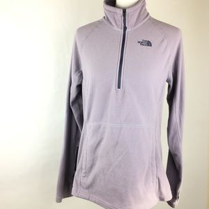 The North Face Light Purple Fleece Pullover